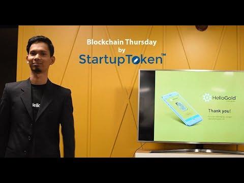 [Blockchain Thursday by StartupToken] HelloGold