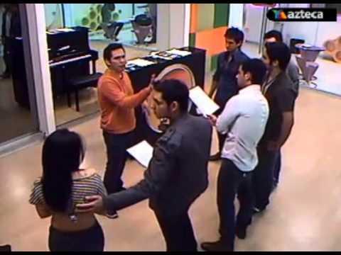 """Los Tobys y Carmen ensayando la cancion """"A Puro Dolor"""" ( 08-12-2011 )"""