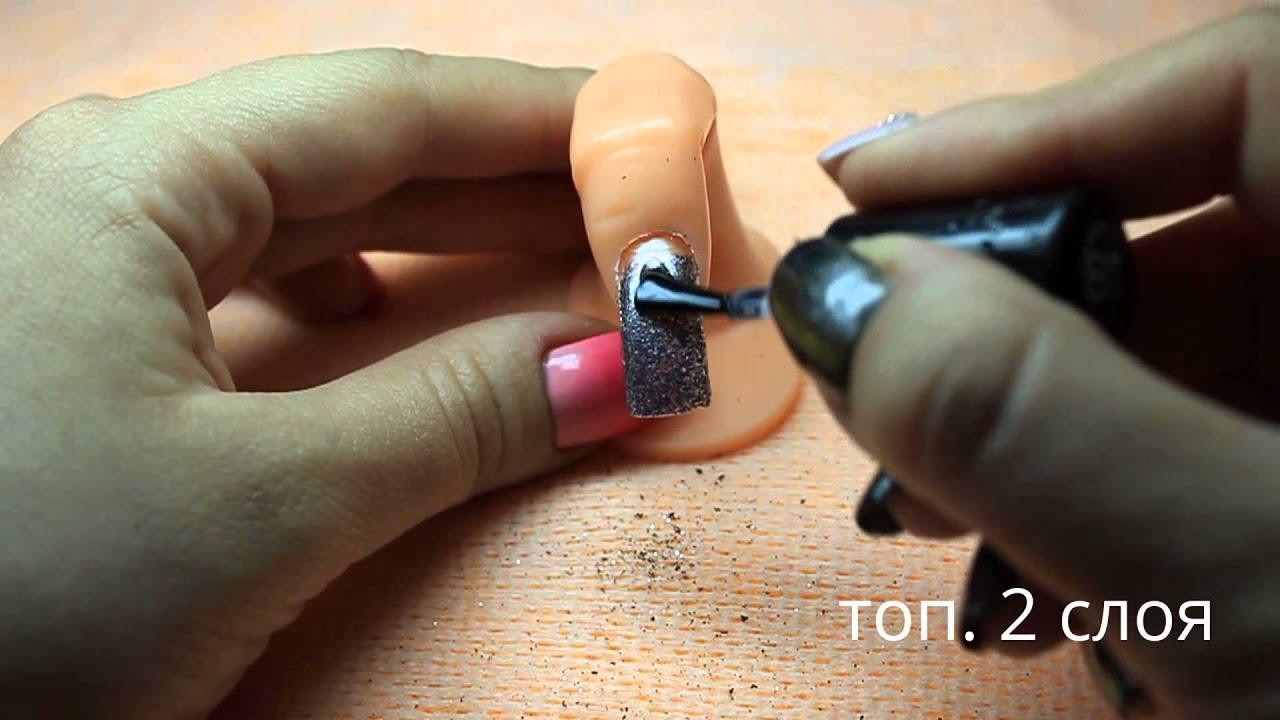 Чем снимать липкий слой с гель-лака
