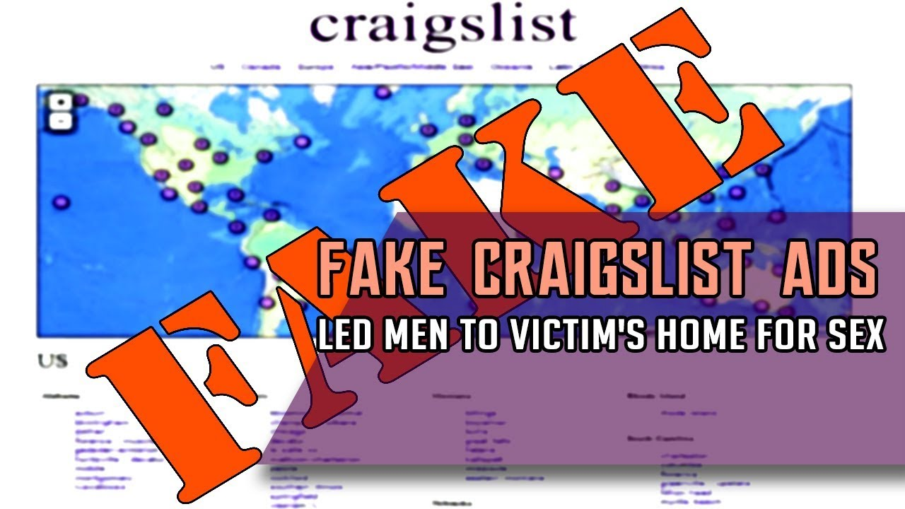Tsm News - Fake Craigslist Ads Led Men To Victims Home -6752