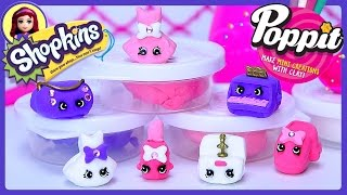 Poppit Shopkins Ballet Make Your Own Shopkins Clay Review Play - Kids Toys