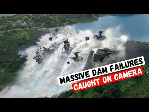 NATURAL DISASTERS Massive Dam Failures CAUGHT ON CAMERA Climate changе! disasters 2021 flood