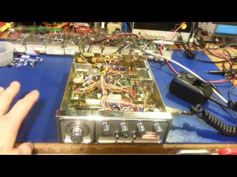 Midland 79-892 AM/SSB CB radio diagnostics and repair. Cybernet with a bad VCO block. Part 1