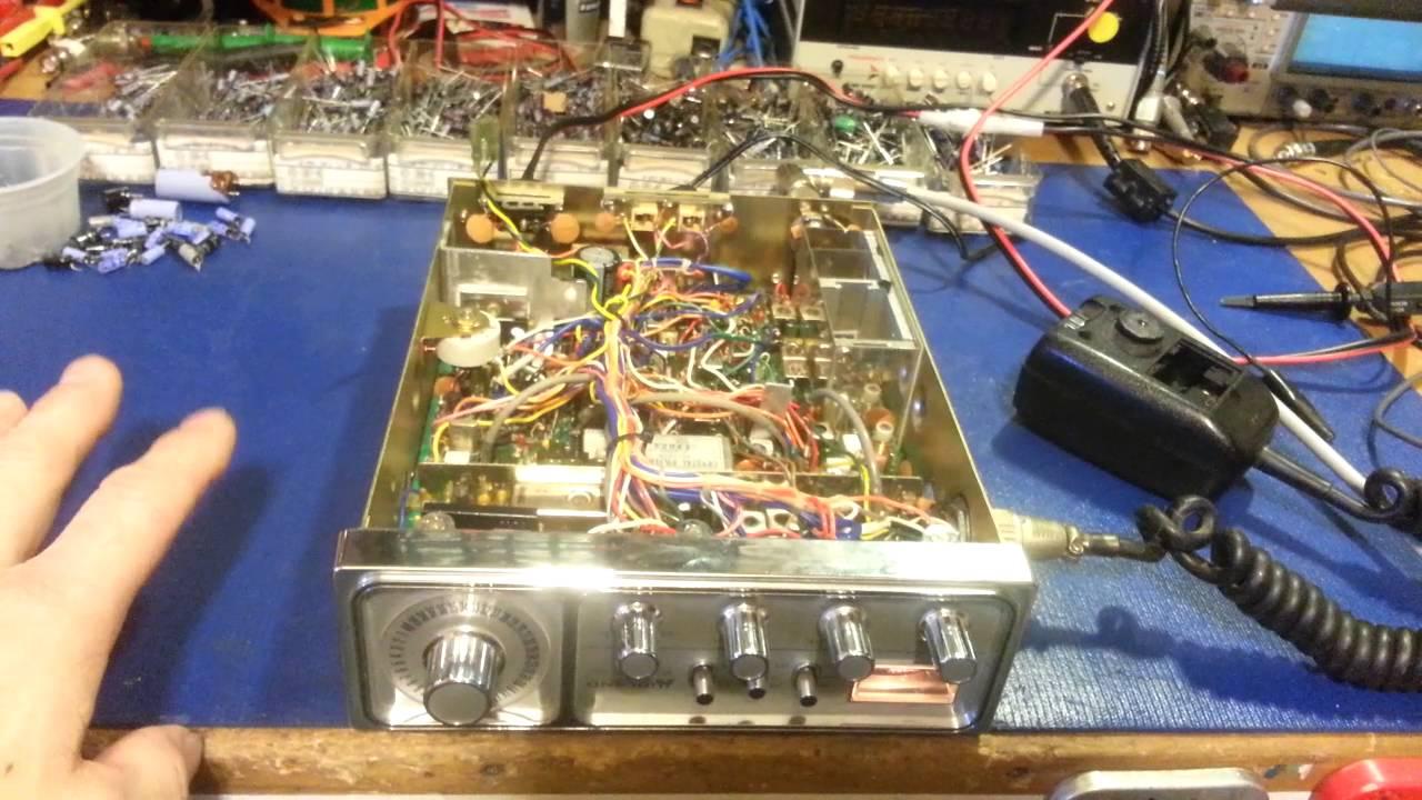 Schemi Elettrici Radio Cb : Midland am ssb cb radio diagnostics and repair cybernet