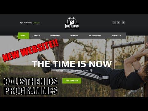 My New Website - Fro Fitness Beginner/Intermediate Calisthenics Programmes