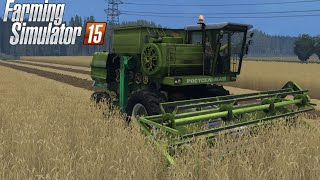 Farming Simulator 2015 mod harvester Don 1500A