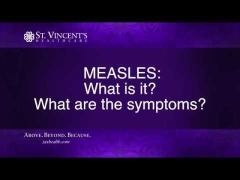 MEASLES: What is it and what are the symptoms?