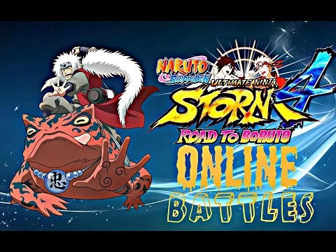 JIRAIYA GAMEPLAY ONLINE [naruto Shippuden Ultimate Ninja Storm 4 Road To Boruto]