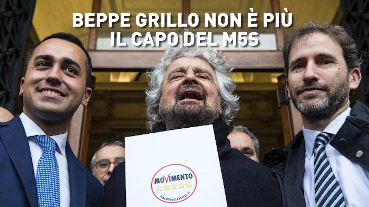 PTV News - 12.03.19 - Beppe Grillo non è più il capo del M5S