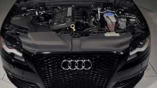 ECS Tuning: Audi B8 A4 Kohlefaser Luft-Technik Intake System
