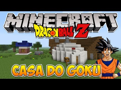 Minecraft: Como construir a Casa do Goku (Dragon Ball Z)