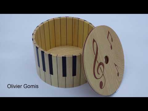 Woodturning - The Piano Box