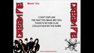 Cream Pie - Missin' You (w/lyrics) Thumbnail