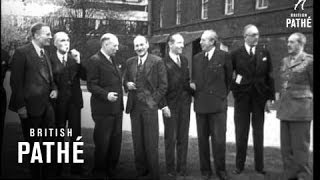 Attlee And Dutch Pm (1946)