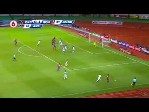 Costa rica 1 vs Honduras 1 , clasificación a Russia