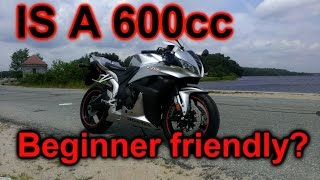 Can you start on a 600cc motorcycle?