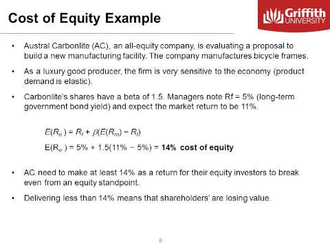 Module 8  Costs of Capital
