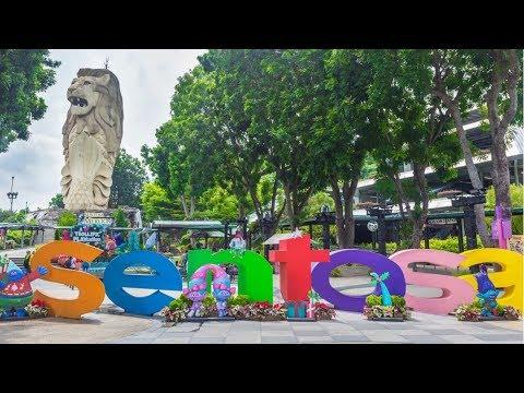 SENTOSA ISLAND, SINGAPORE Hindi