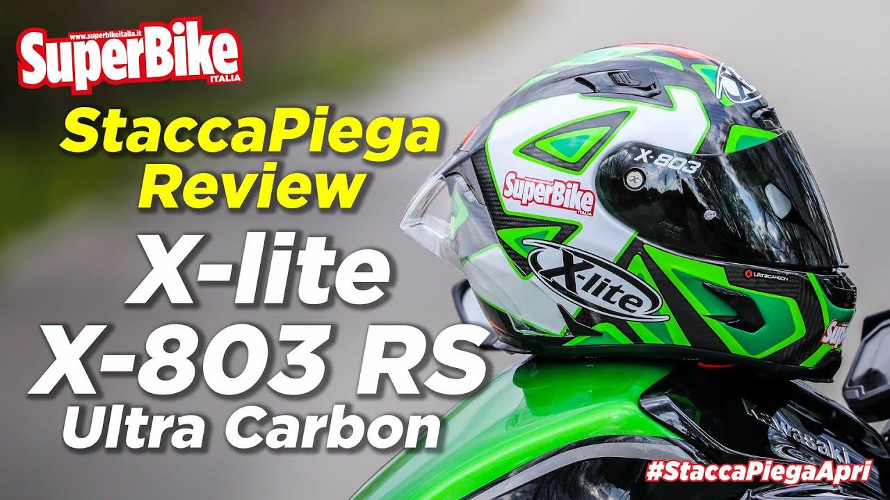 X-lite X-803 RS Ultra Carbon: la recensione del casco in carbonio con l'aerodinamica da MotoGP!