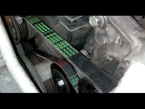 ᴴᴰCorolla Toyota VBelts Guide: Alternator and