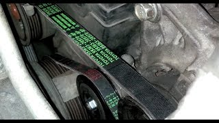 ᴴᴰCorolla Toyota V-Belts Guide: Alternator and ancilliaries (4AFE 1.6L)