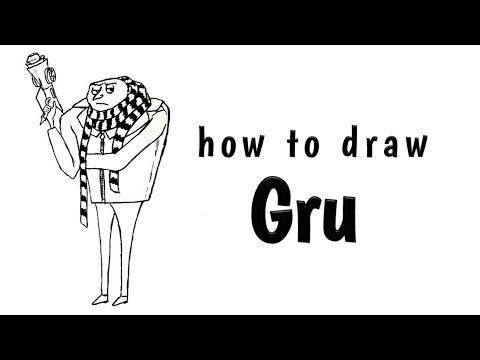 Gru how to draw gru easy tutorial youtube gru how to draw gru easy tutorial altavistaventures Images