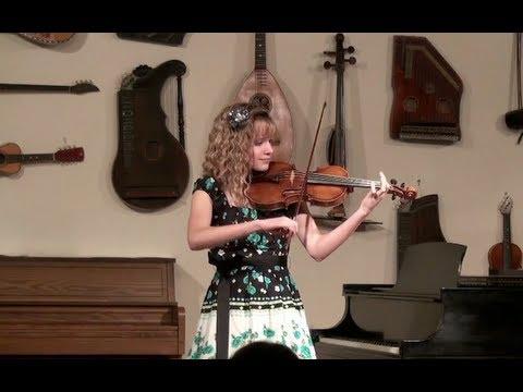 World's Fastest 13 Year-Old Violinist --