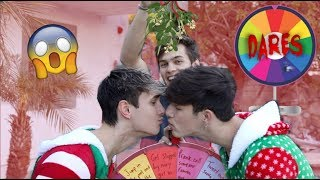 A Very Interesting Christmas Wheel Of Dares.....