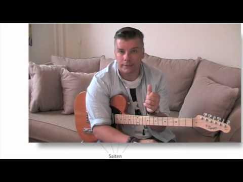 Akkord Diagramm lesen und verstehen - (ST04-01)/ Anfänger Gitarre ...
