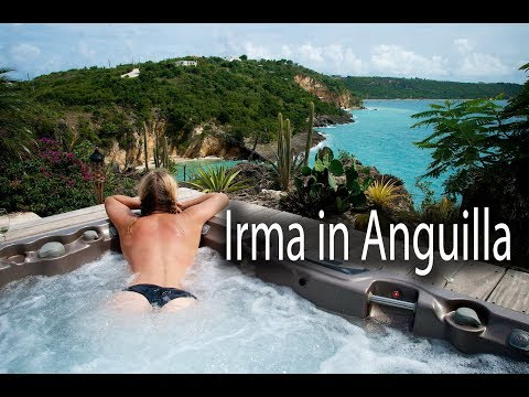 Anguilla attracts Irma, Category four Hurricane to tropical holiday leeward Island, hotels, resorts