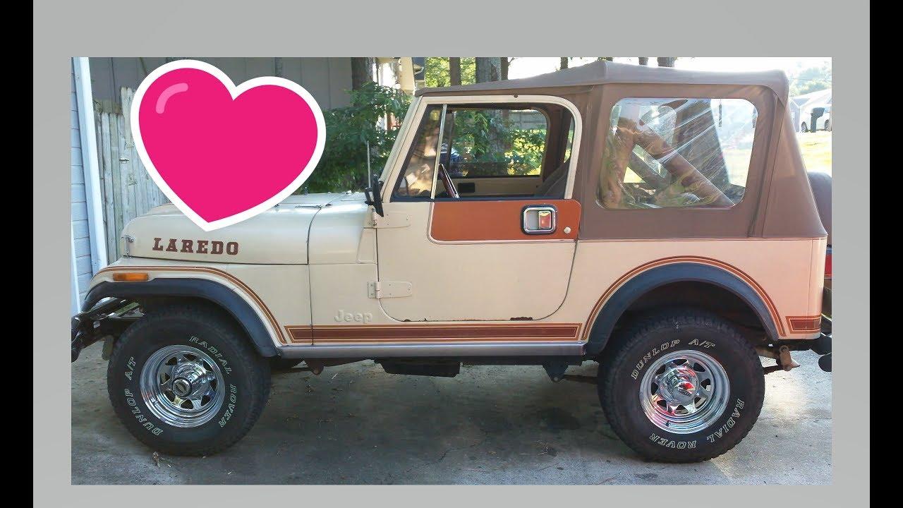 jeep cj7 installing the soft top [ 1280 x 720 Pixel ]