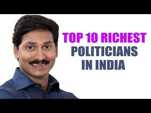 Top 10 - The Richest Politicians in India