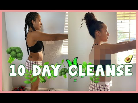 I Did A 10 DAY TOXIN CLEANSE and The Results Are AMAZING | I lost 6 POUNDS