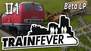 Train Fever #1 Endlich geht es los BETA Die Zug und Wirtschafts Simulation Gameplay deutsch HD 1080