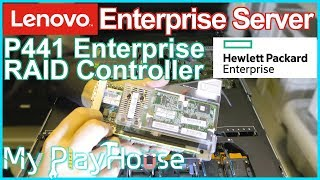 HPE Smart Array P441 Controller in a Lenovo Server x3x50 Mx ?? - 787