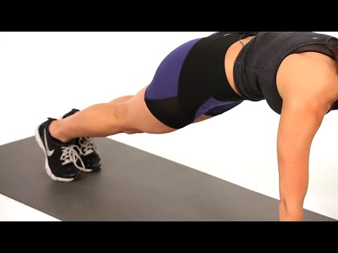 How to Do a Plank Kickout | Sexy Butt