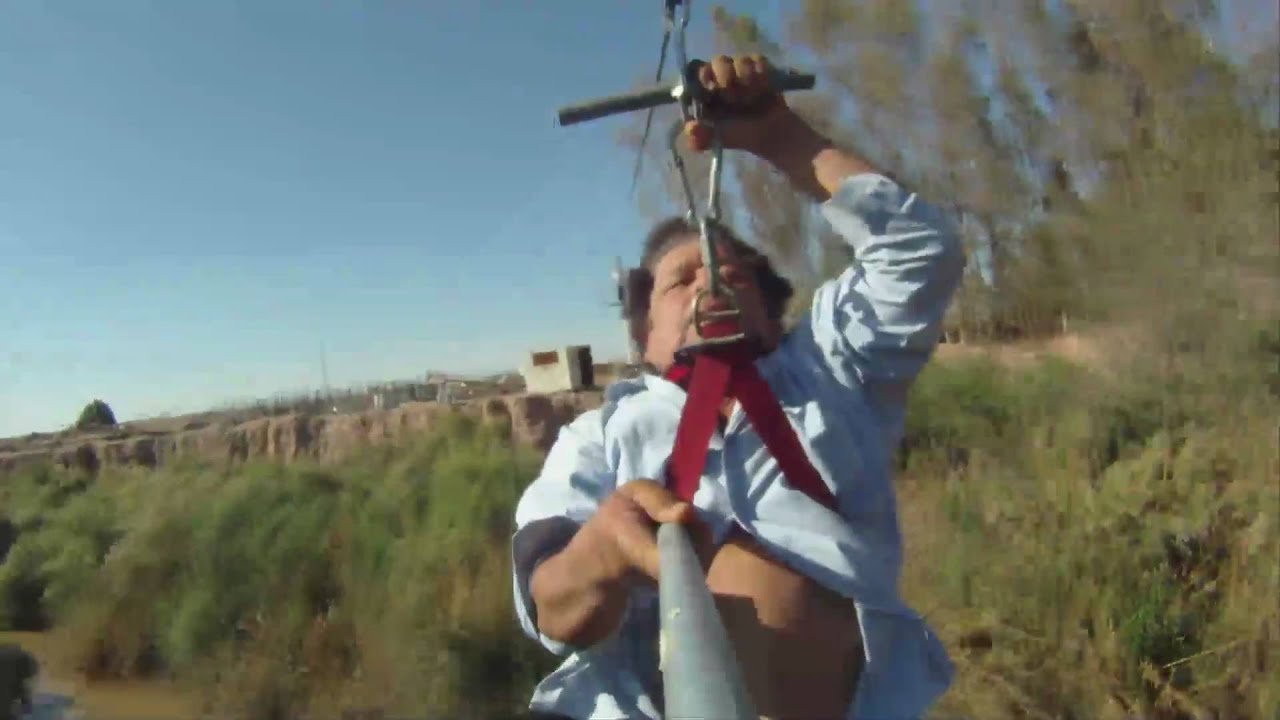extreme homemade zip line youtube