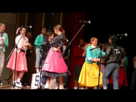 Jackson Bostic - Grease - Clarkton School of Discovery Beta Club Group Talent