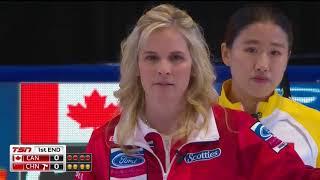 Jones (CAN) vs. Jiang (CHN) - 2018 Ford World Women