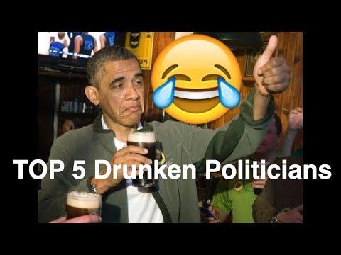 TOP 5 Drunken Politicians