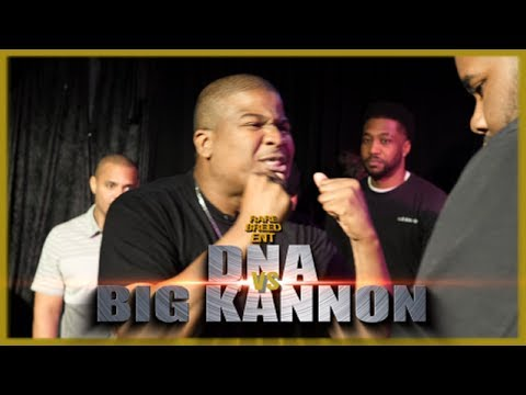DNA VS BIG KANNON (KING OF REBUTTALS) RAP BATTLE - RBE