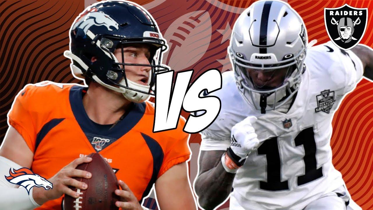 Raiders vs Broncos Predictions: Expert Picks & Betting Offers - Week ...