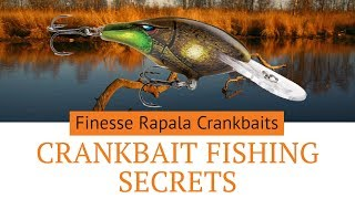 Finesse Crankbait Fishing : Catch Clear Water Bass