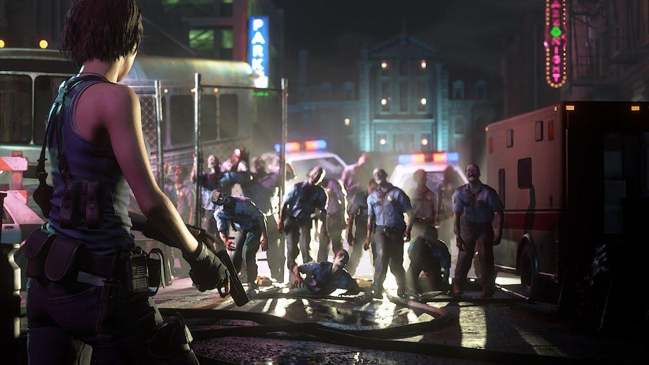 PS4《Resident Evil 3》重製版發表預告 (中文字幕)