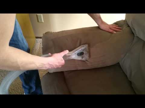 Cleaning microfiber couch Grand Rapids MN Saiger's