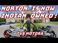 Norton Motorcycles Bought By Indian Company Tvs Motor
