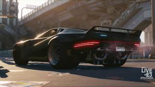 Cyberpunk 2077 World Premier Trailer - Microsoft Xbox Press Conference E3 2018