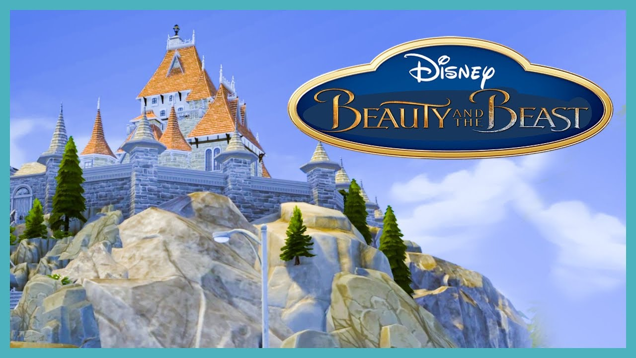 Someone Built The Beauty And The Beast Castle In The Sims 4 Your Gallery Builds Youtube