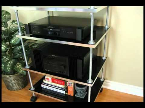 Build Your Own Audio Shelf 02 - YouTube
