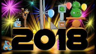 Angry Birds Niveis-5 novos níveis de Ano Novo criado por mim - Angry Birds Nest Brasil